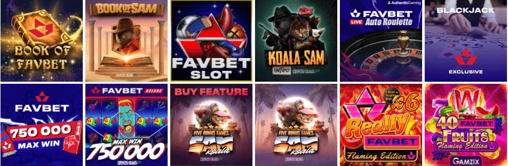 Favbet бонус казино